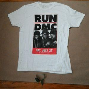 Other - Run-DMC T-Shirt THE RAIL NWOT